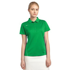 Nike Golf Dri-FIT Sport Swoosh Pique Polo - Ladies