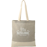Split Recycled 5oz Cotton Twill Convention Tote